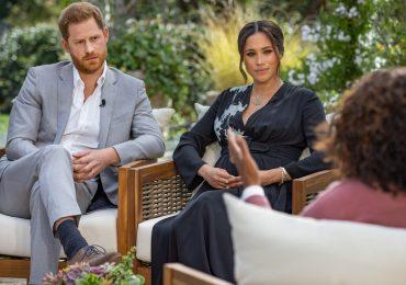 Declaraciones de Meghan y Harry con Oprah