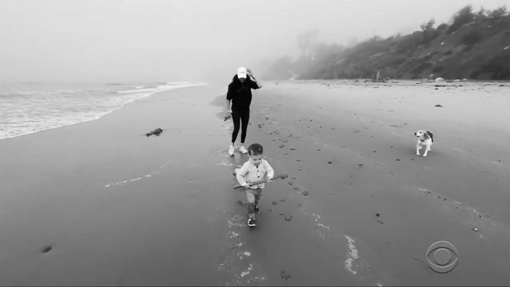 Fotos de Archie Hijo de Meghan y Harry en la playa
