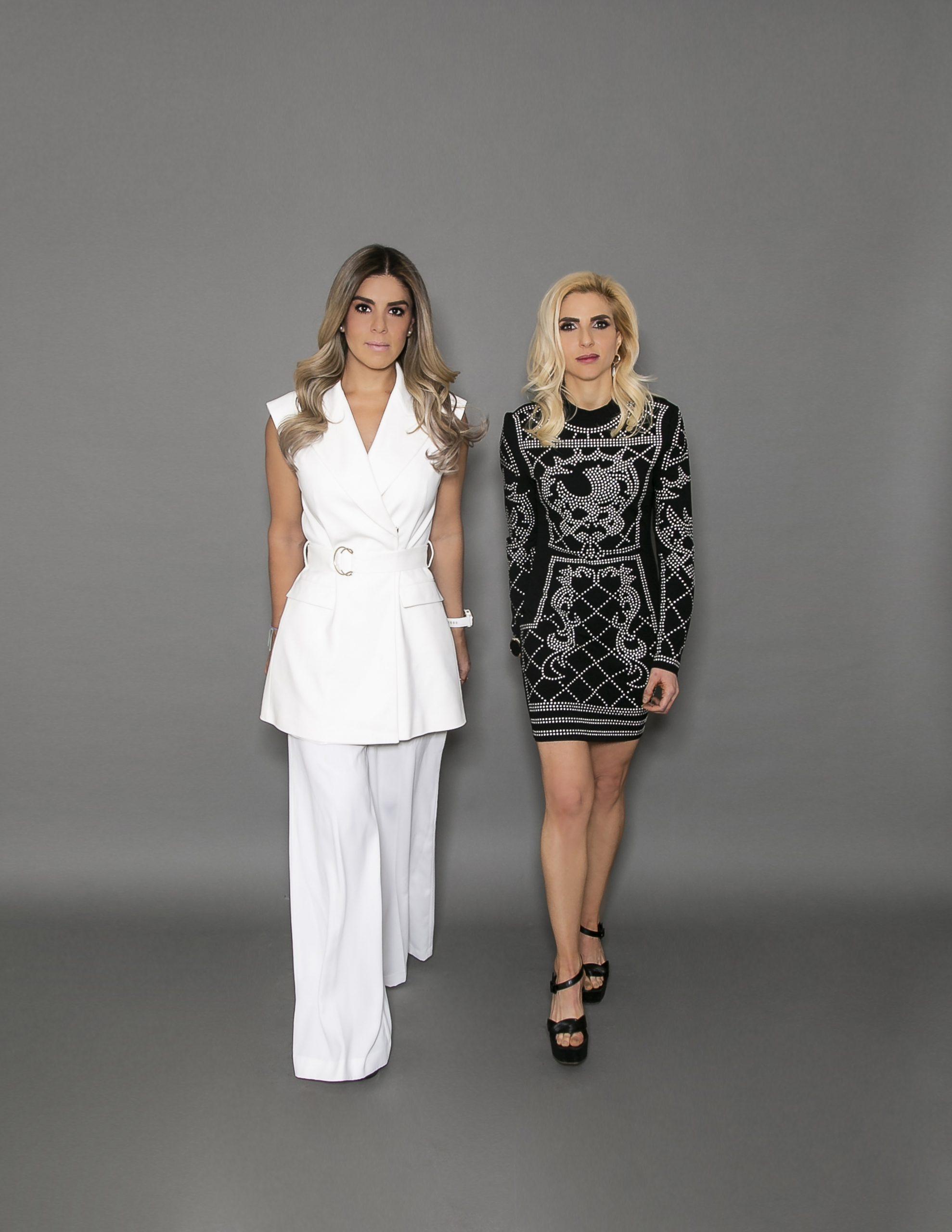 Fabiola Ortiz y Elena Achar