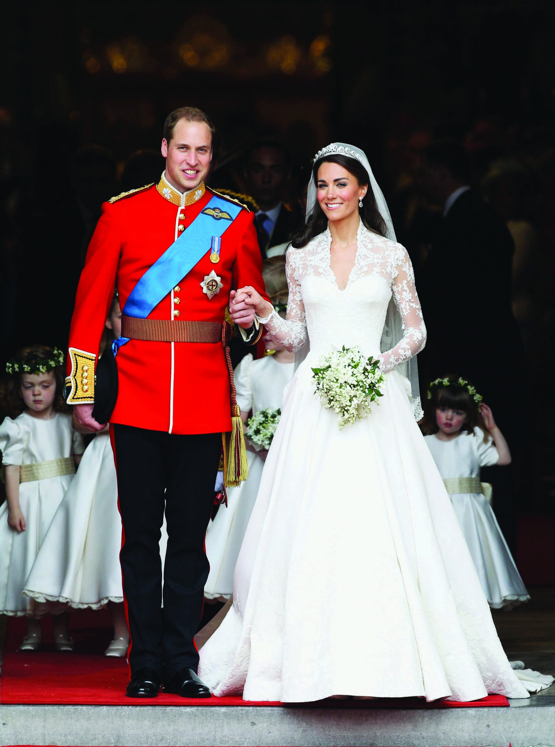 Duques de Cambridge boda