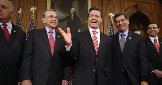 Enrique Peña Nieto en boda de república dominicana presidente