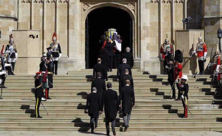 Funeral Felipe de Edimburgo Capilla