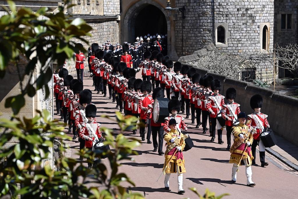Funeral Felipe de Edimburgo Desfile