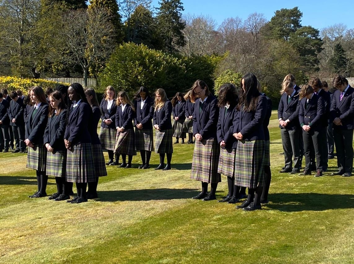 Funeral Felipe de Edimburgo Gordonstoun