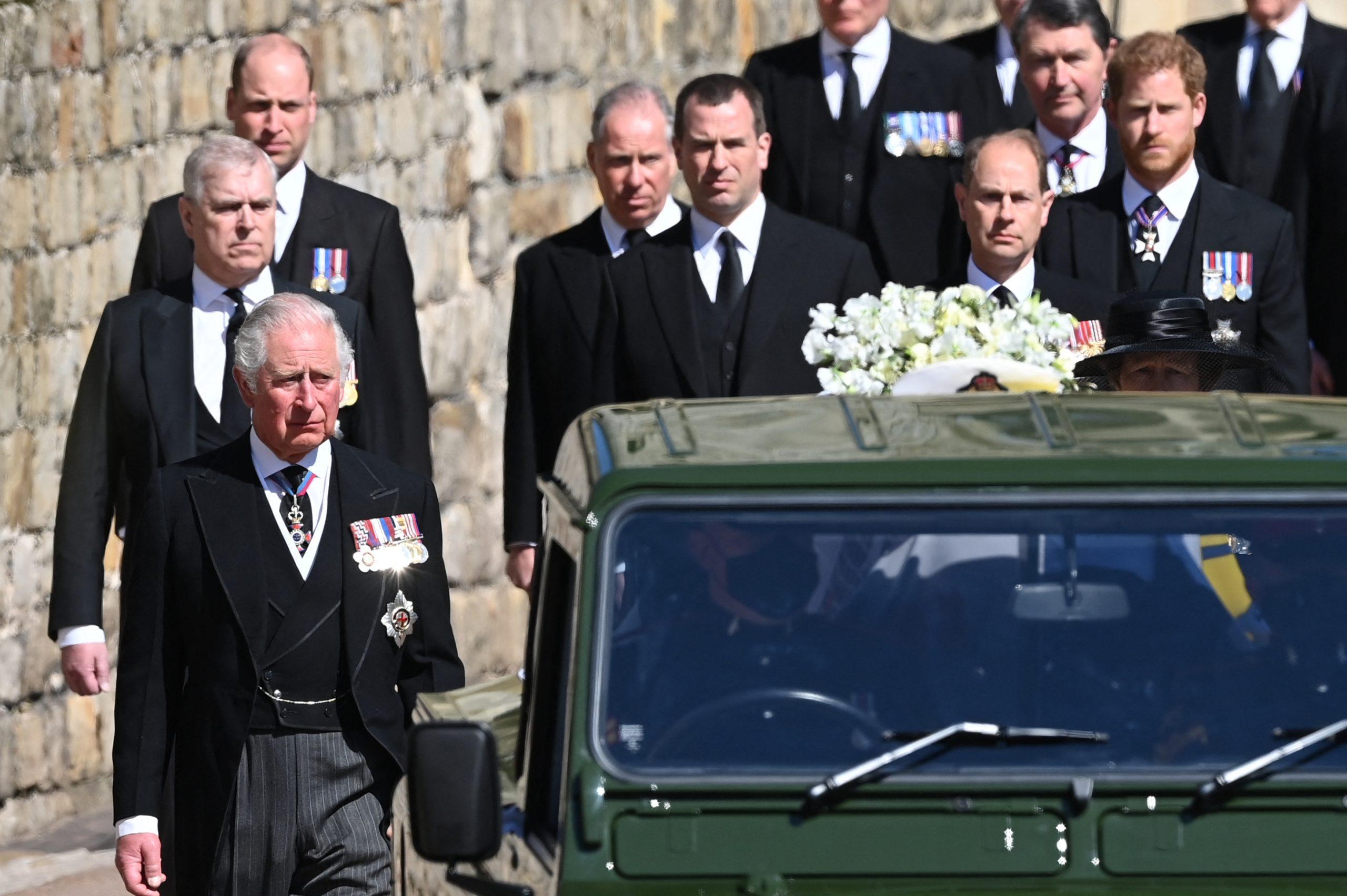 Funeral Felipe de Edimburgo Miembros reales