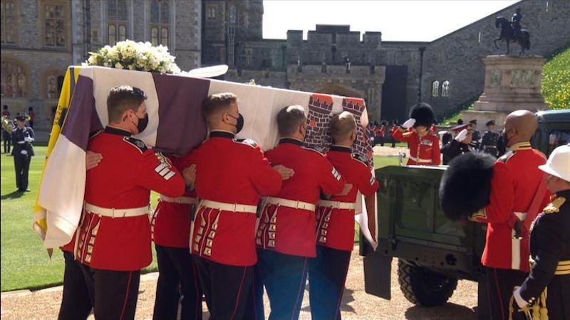 Funeral Felipe de Edimburgo procesión