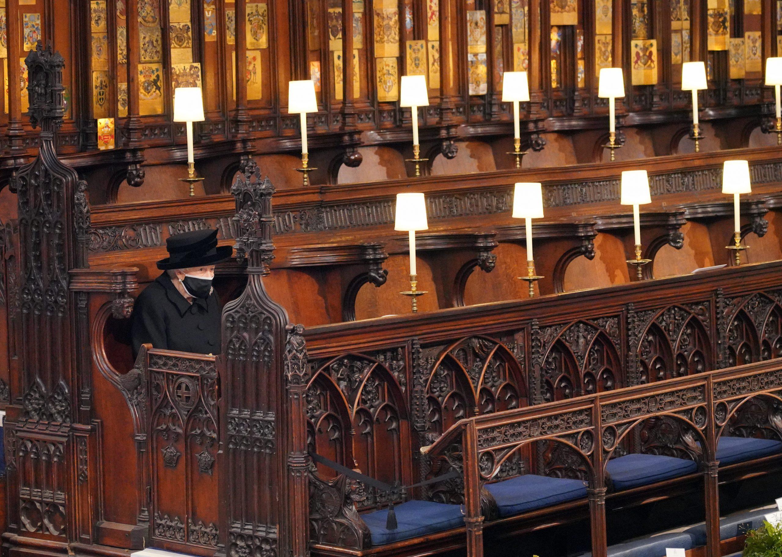 Funeral Felipe de Edimburgo Reina Sola