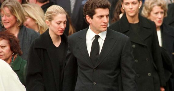 Lady Diana y John F Kennedy Jr