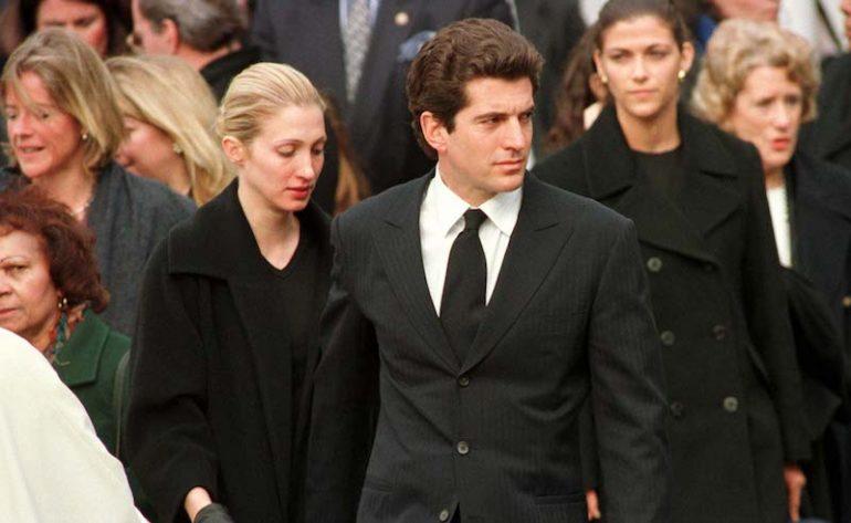 Lady Diana y John F Kennedy Jr