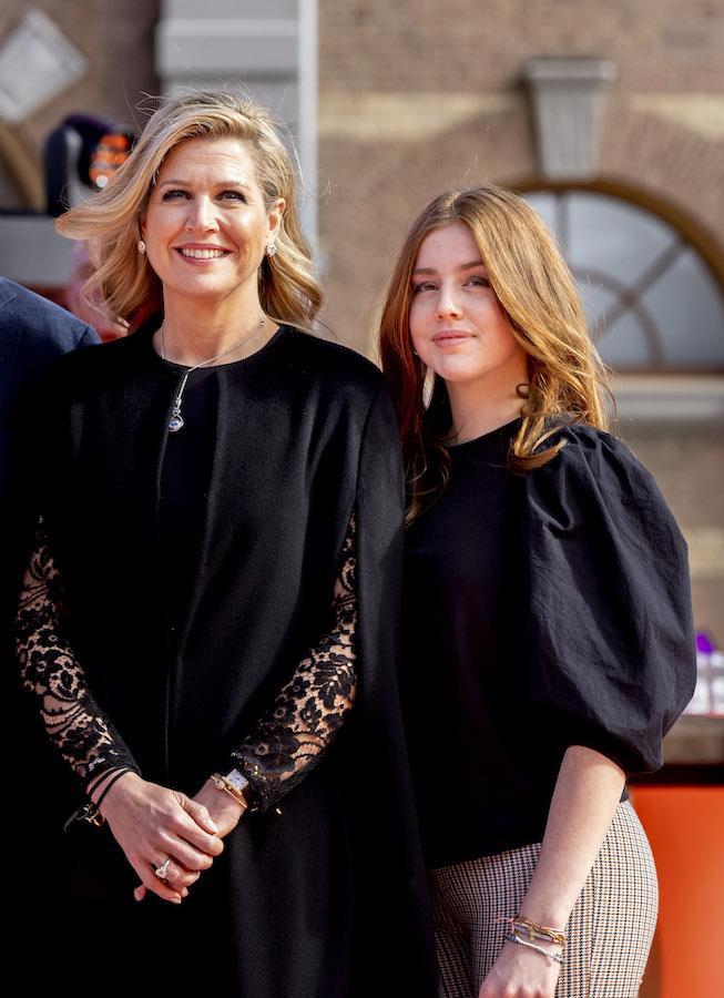 Máxima de Holanda collar royal asscher