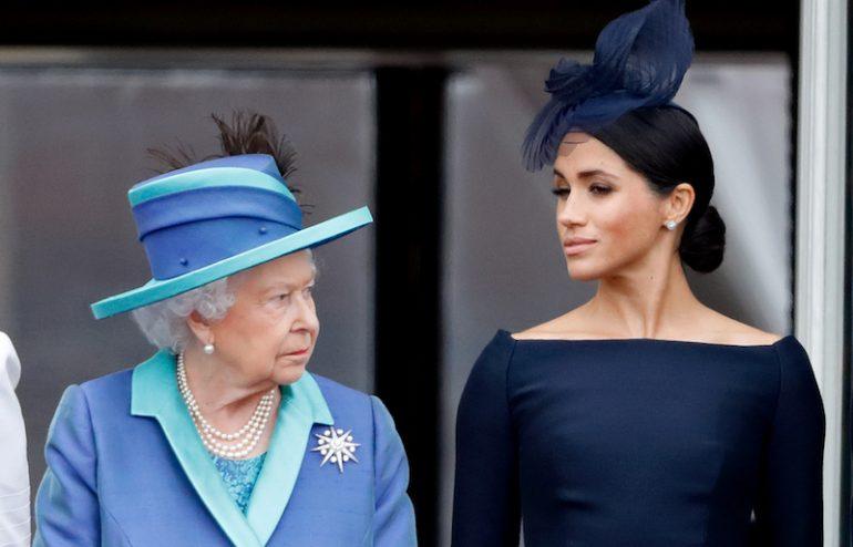 Meghan y la reina Isabel