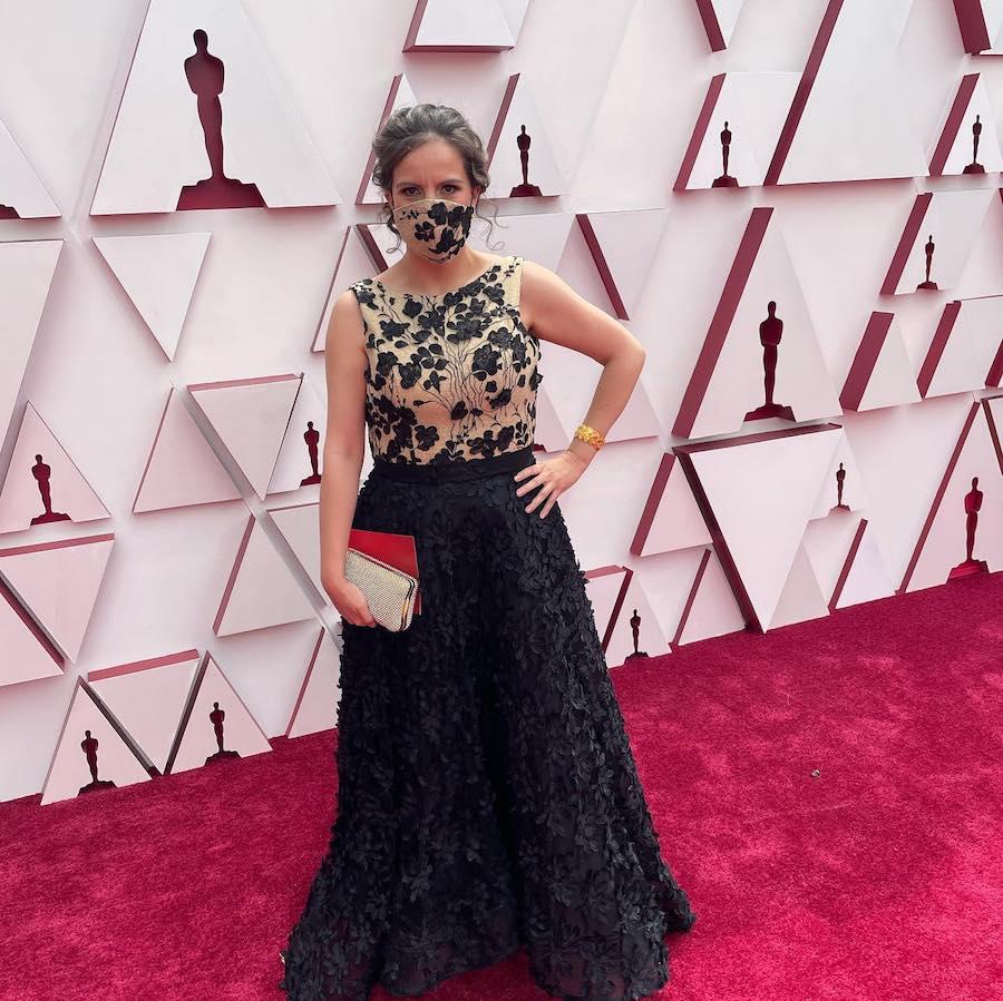 Mexicana Ganadora Oscar 2021 Joyería alfombra
