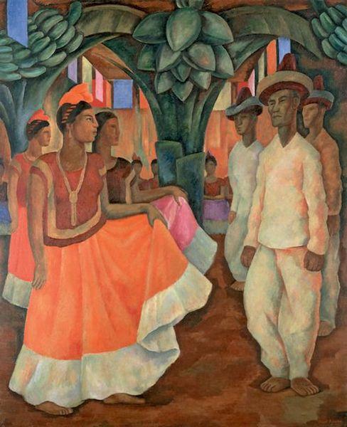 Obras de arte mexicanas más caras baile de tehuantepec
