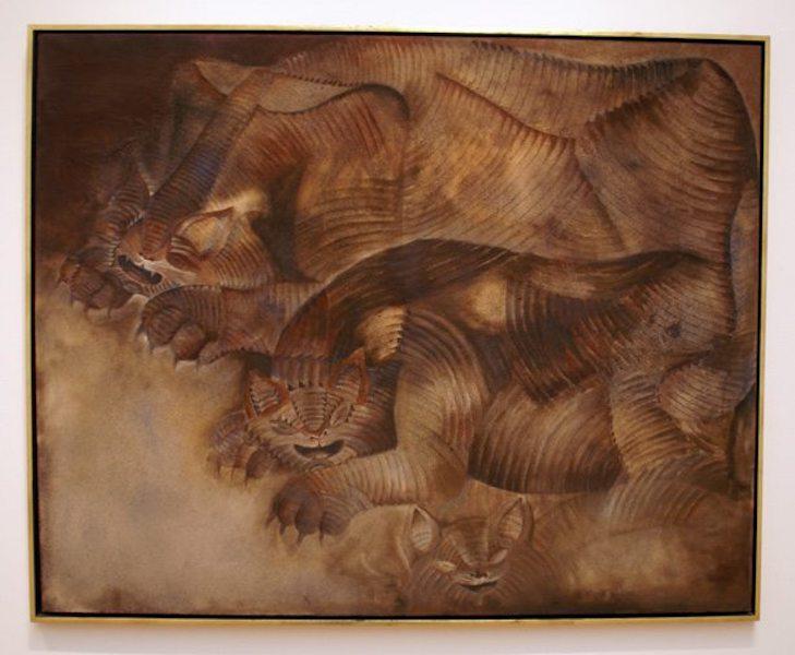 Obras de arte mexicanas más caras gatos con pesadilla