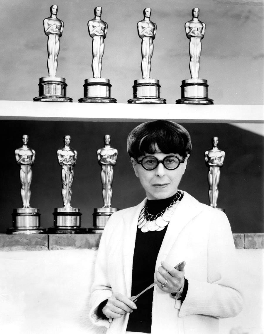 Edith Head Mujeres que han hecho historia en los Oscar