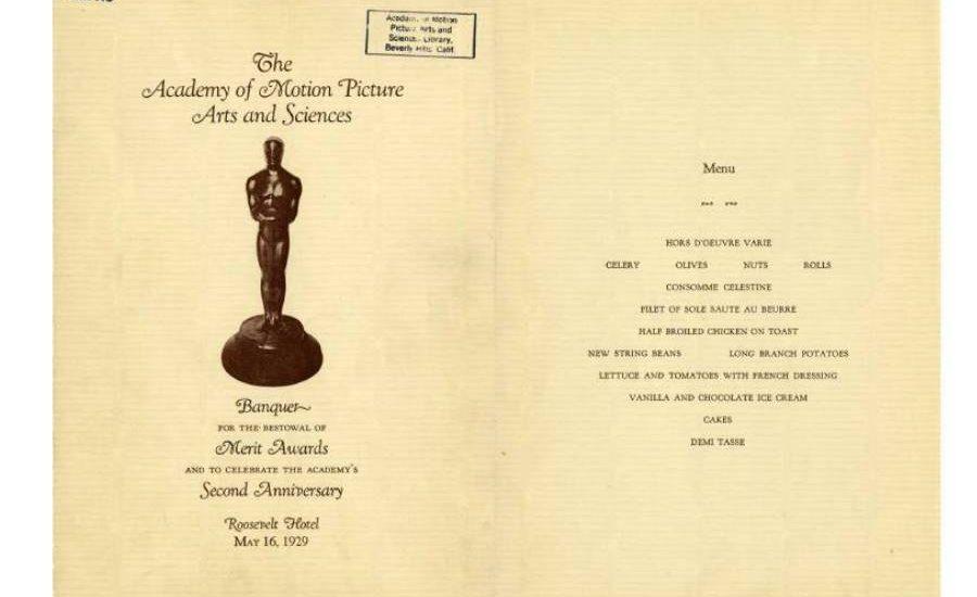 Primer sede de los Oscar