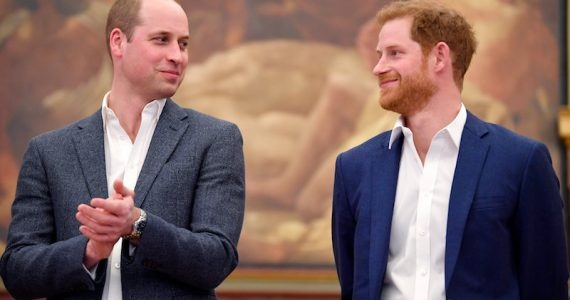 Reconciliación entre William y Harry