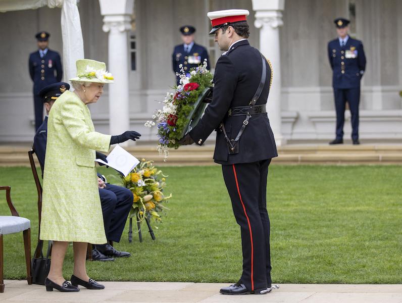Reina Isabel II vacunada Australia