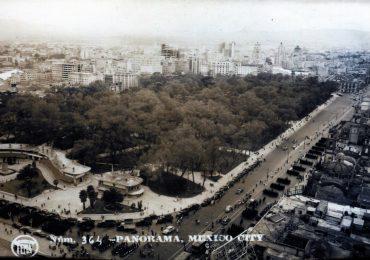 Vista aérea de Alameda Central