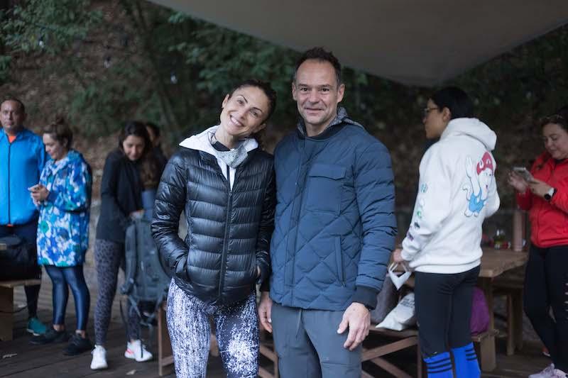 Fin de semana de reconexión en Valle de Bravo Lety y Waldemar Franco