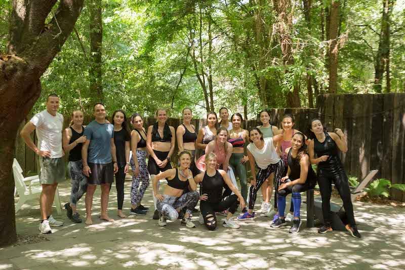 Fin de semana de reconexión en Valle de Bravo crew