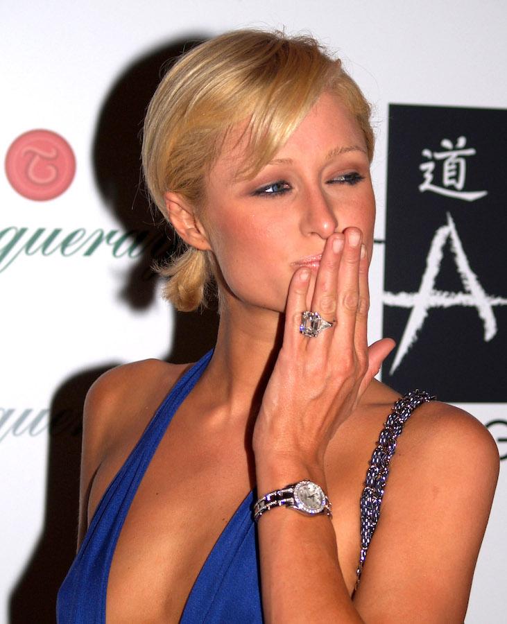Anillos de compromiso más caros del mundo Paris Hilton