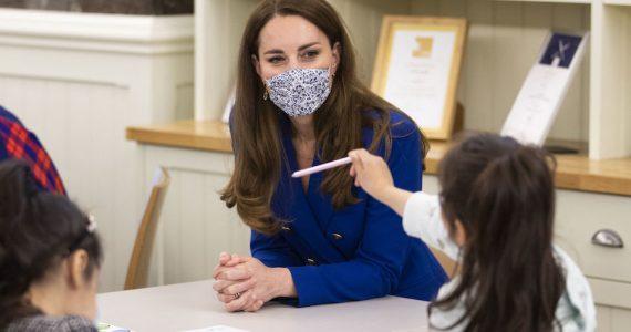 Kate Middleton Lady Diana niños