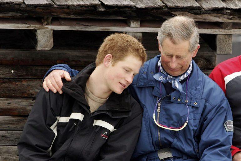 Príncipe Carlos Reconciliación Harry