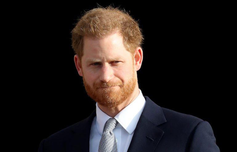 Príncipe Harry Infancia