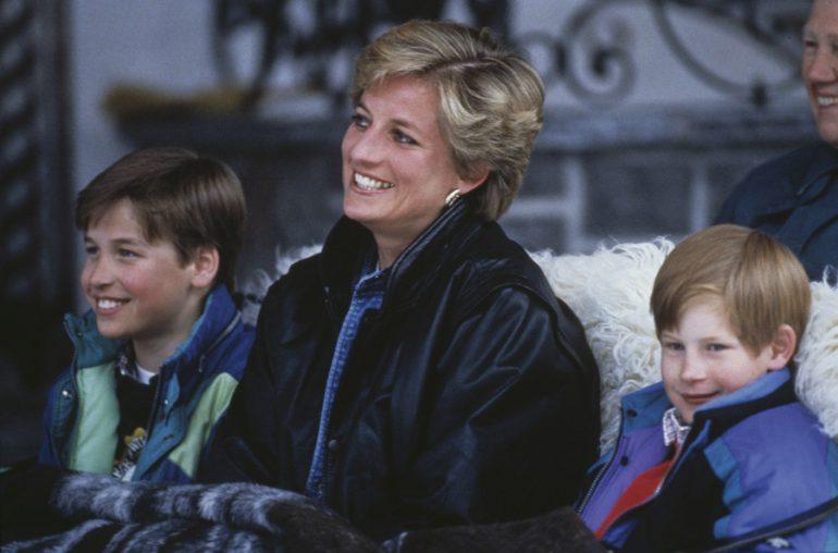 Relación William Harry Diana