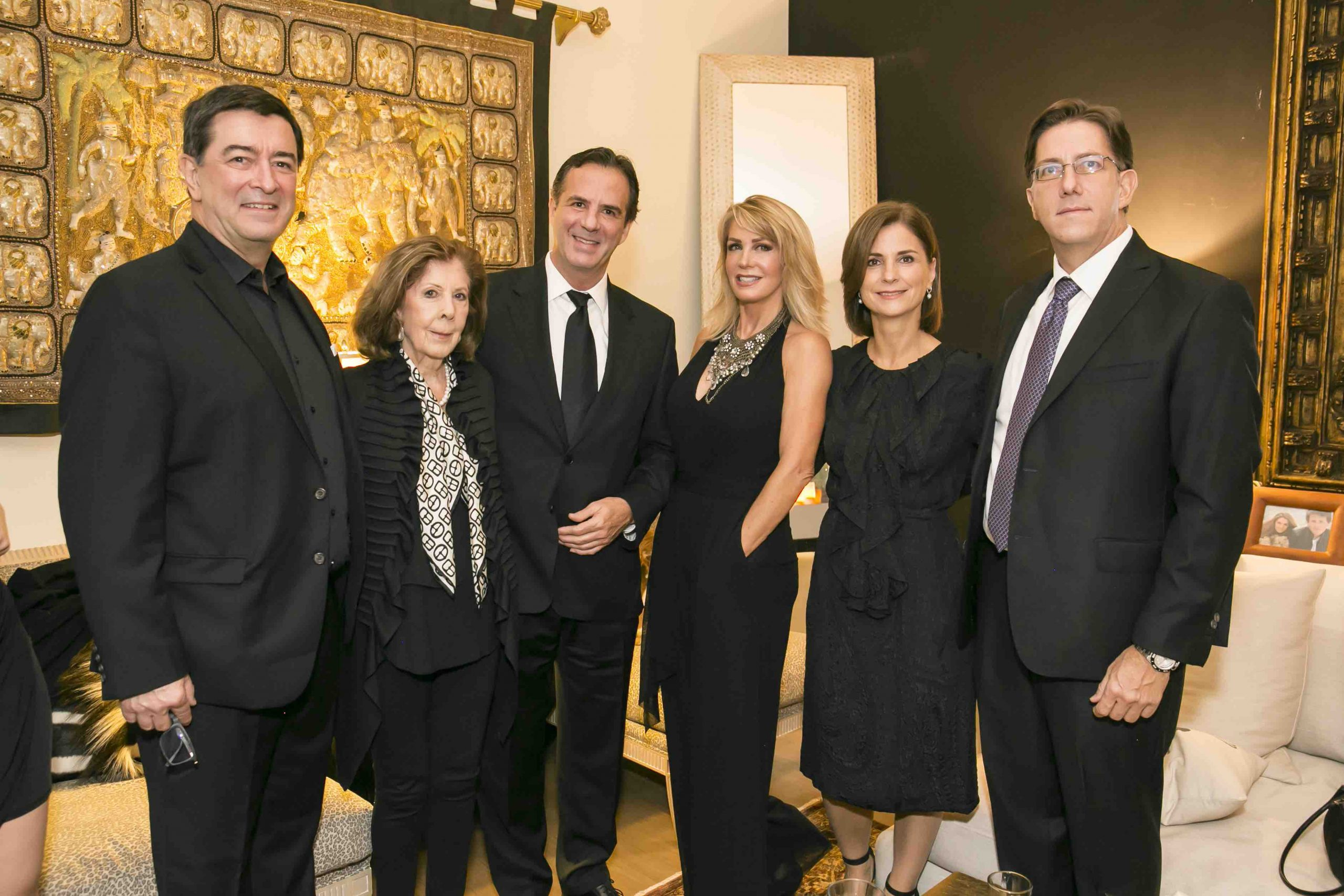 Alfred Pepping, María Eugenia-Valles, Frederick Pepping, Patsy Pepping, Claudia Desoche y Laurence Pepping