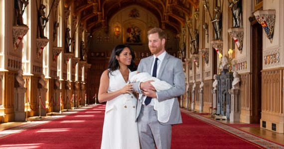 Archie realeza título nobiliario hijo de meghan y harry palacio