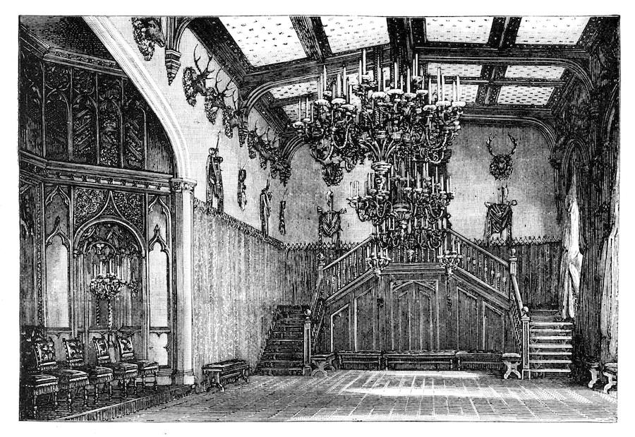 Familia Real británica palacio castillo