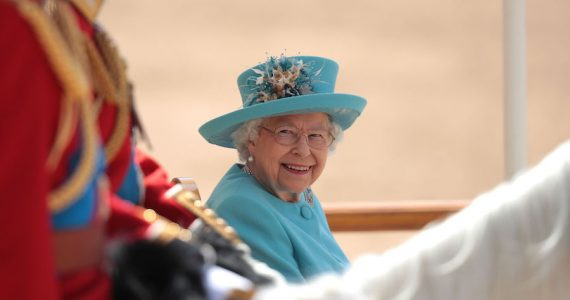 Desfile de cumpleaños Reina Trooping the Colour 2021