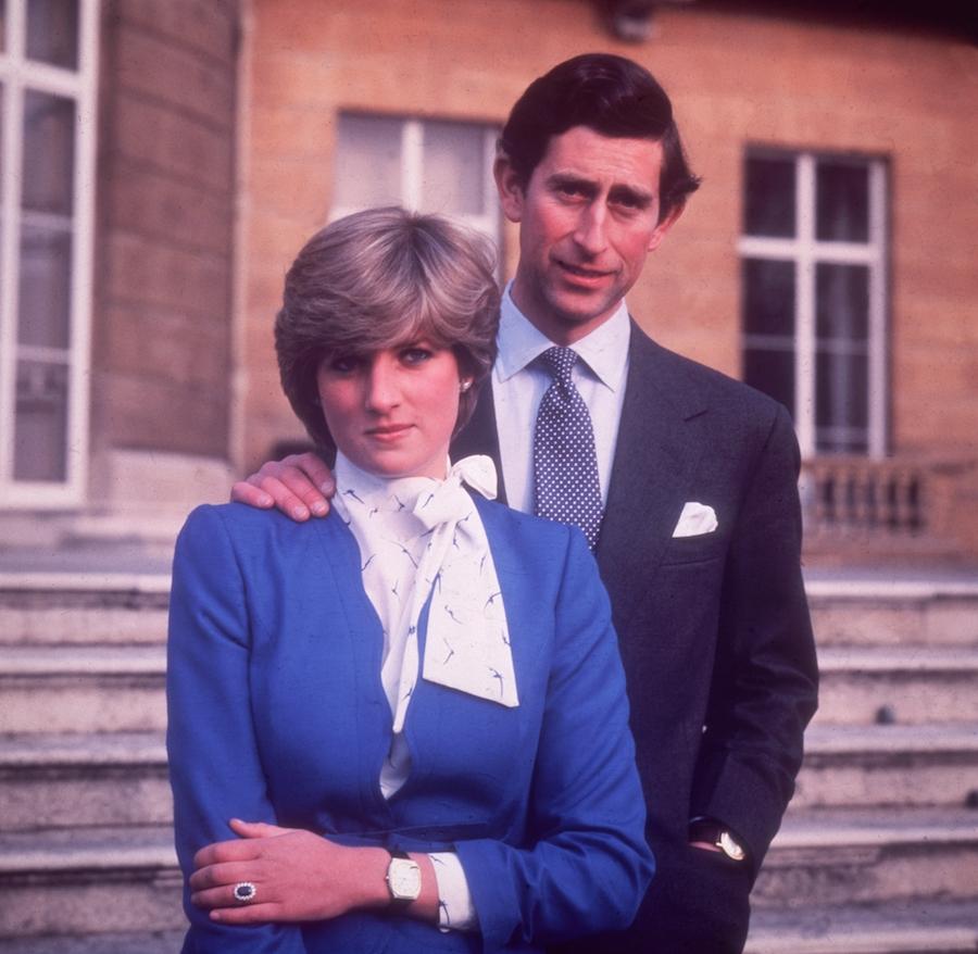 Joyería zafiros princesa Diana Charles