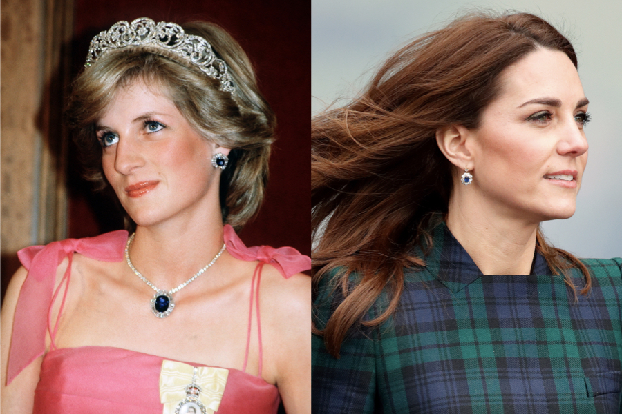 Joyería zafiros princesa diana Kate