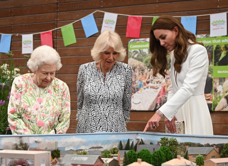 Kate Middleton brazalete Diana maqueta