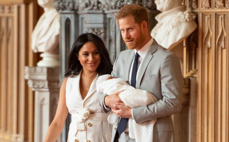Meghan Harry nueva bebé