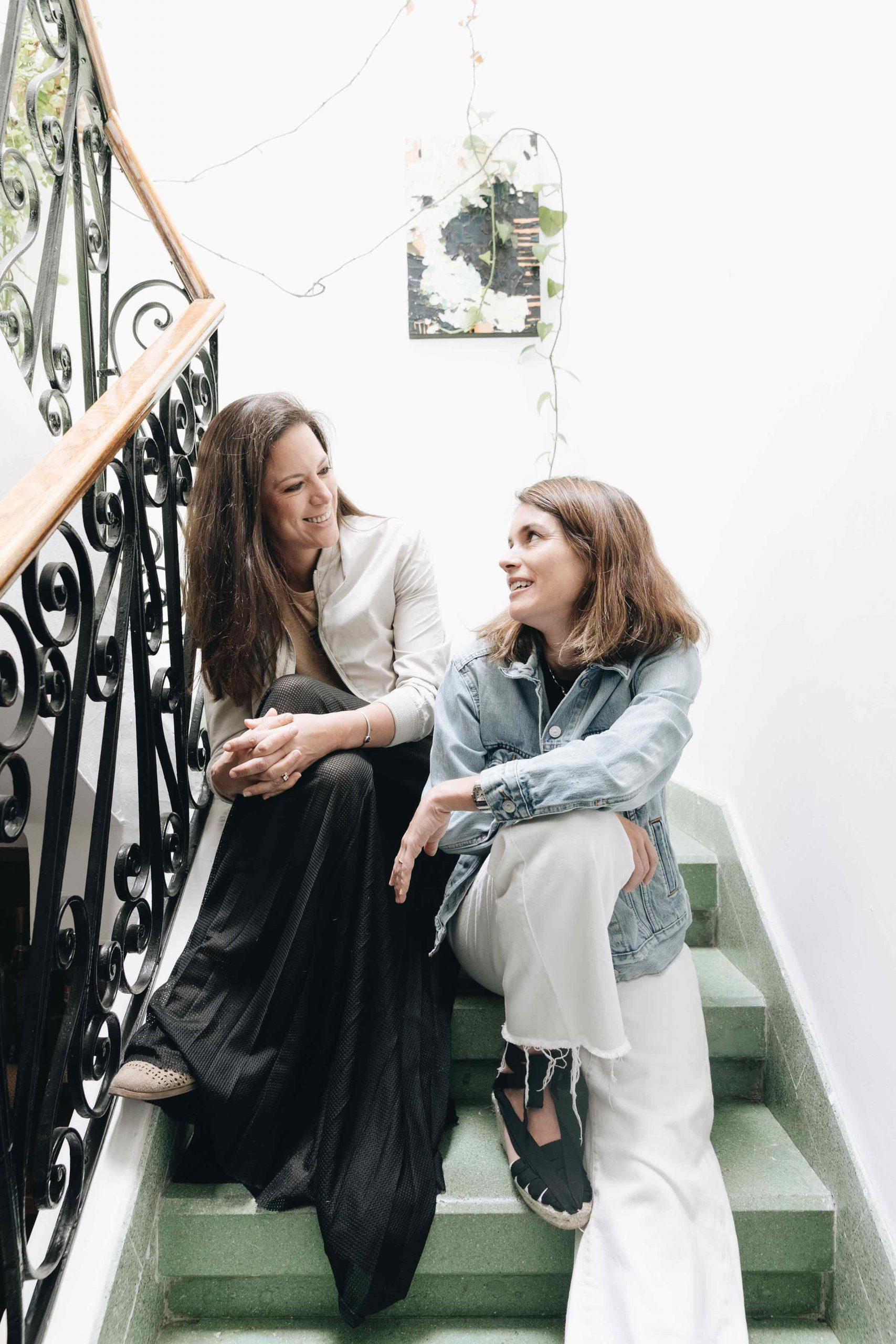Paulina Gil y Adriana Mendez