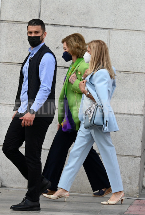 Reina Sofía Atenas 2021 shopping
