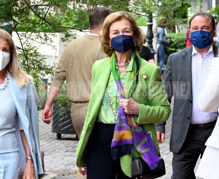 Reina Sofía Atenas 2021 outfit
