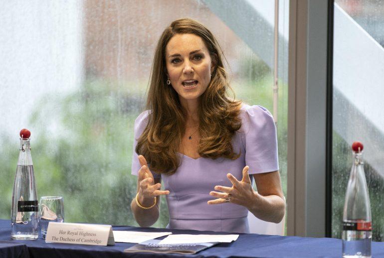 Kate Middleton dió positivo a COVID