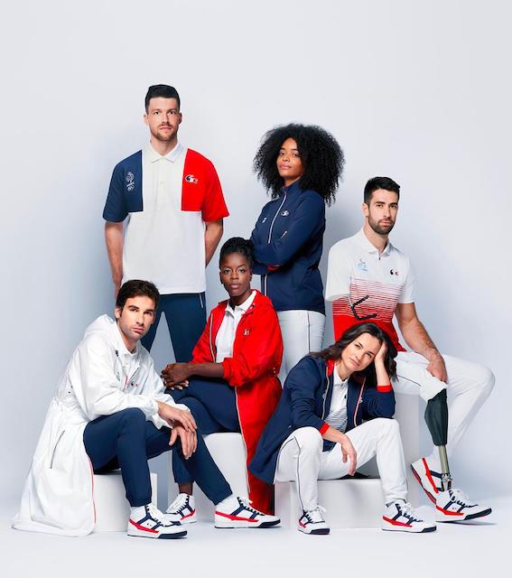 los uniformes de las delegaciones de los Juegos Olímpicos