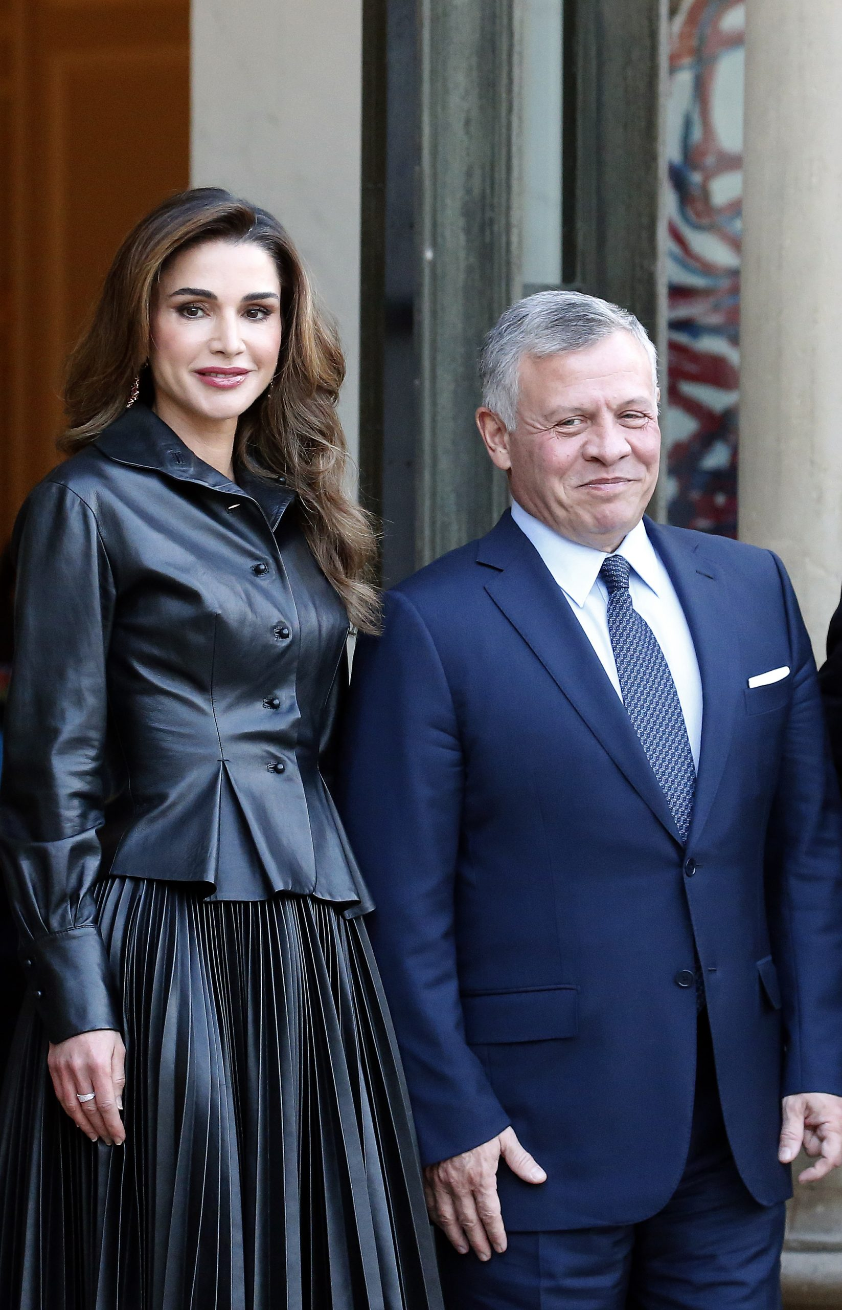 La vista de Rania de Jordania a la Casa Blanca