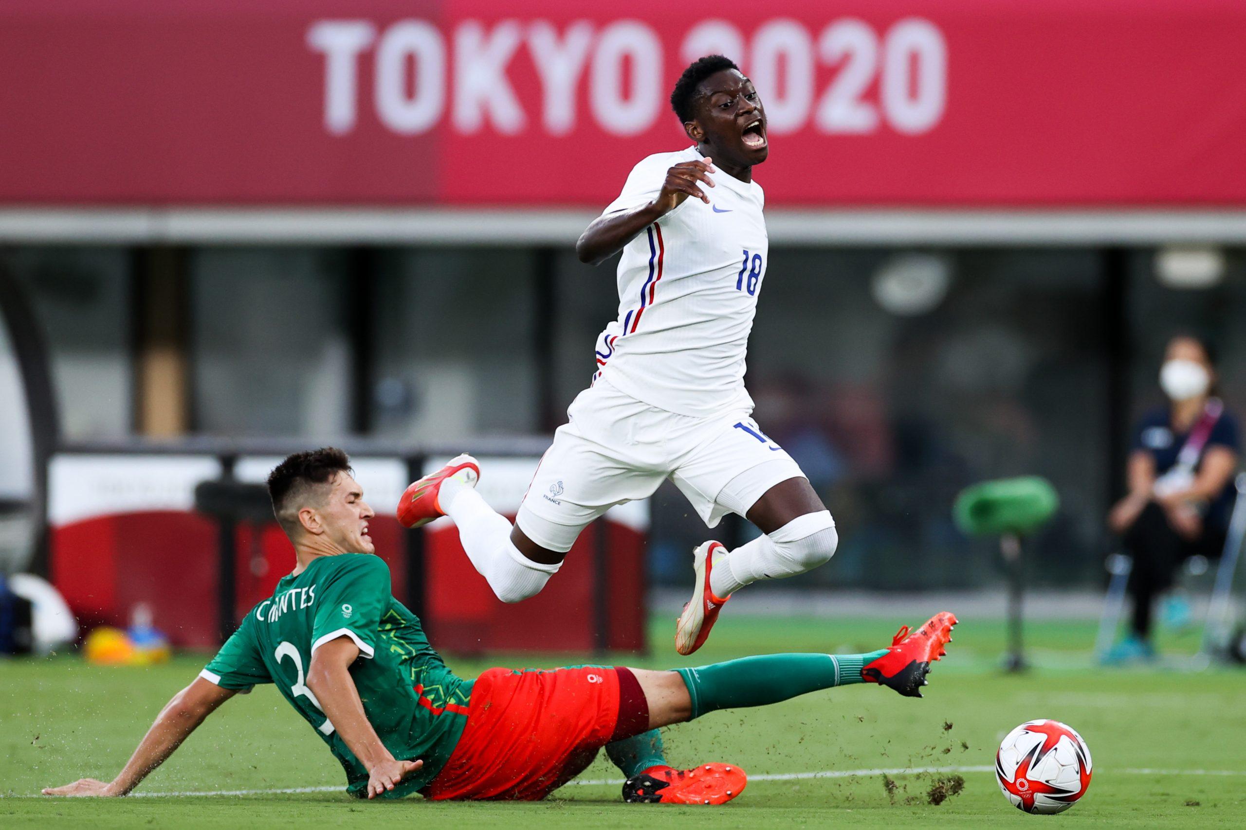 selección mexicana golea a la Francia de Gignac