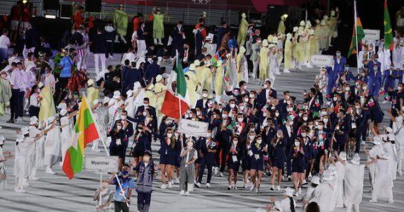 la delegación mexicana en Tokio 2020