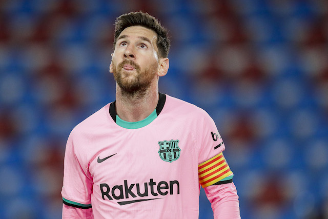 Messi dice adiós al Barça