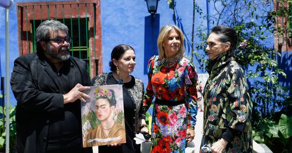 El autor-Cristina Kahlo-Lulu Creel-y-Ofelia Medina