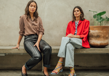 Ximena de Iturbide y Lucía Bosch