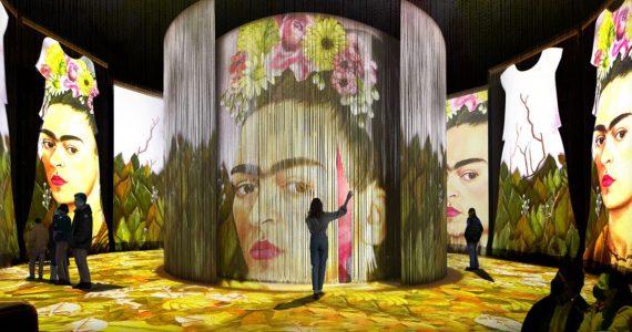 La familia Kahlo presenta la exposición Frida Inmersiva